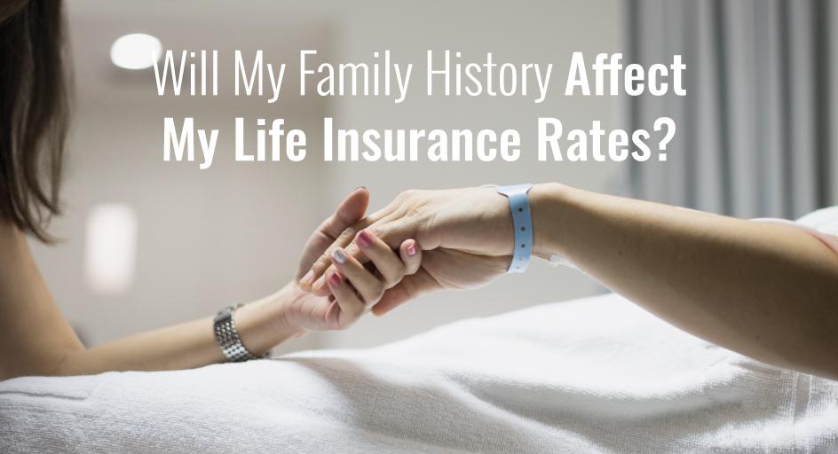blog image: person in a hospital; blog title: will my family history affect my life insurance rates